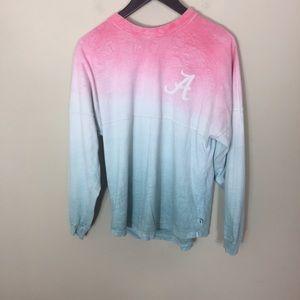 Alabama Roll Tide Tie Dye Long Sleeve Sweatshirt
